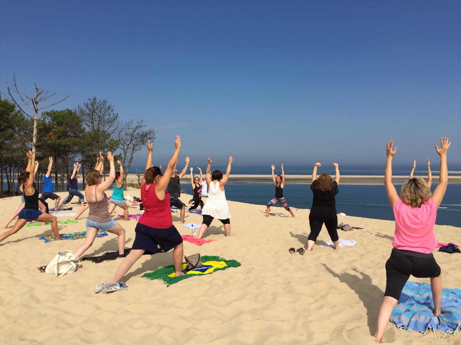 Yoga dans la nature  : faites vous du bien !
